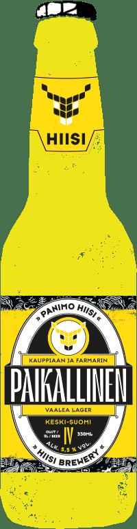 HIISI Paikallinen Pullo